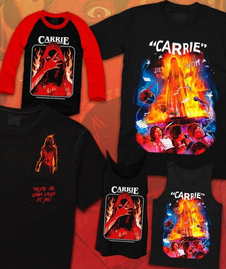 Carrie Teeshirts Cavity Colors2