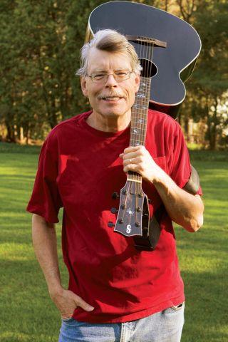 Revival Stephen King Portrait Guitare