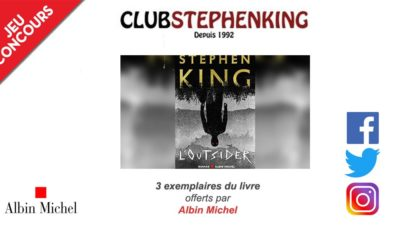 Concours l outsider stephen king