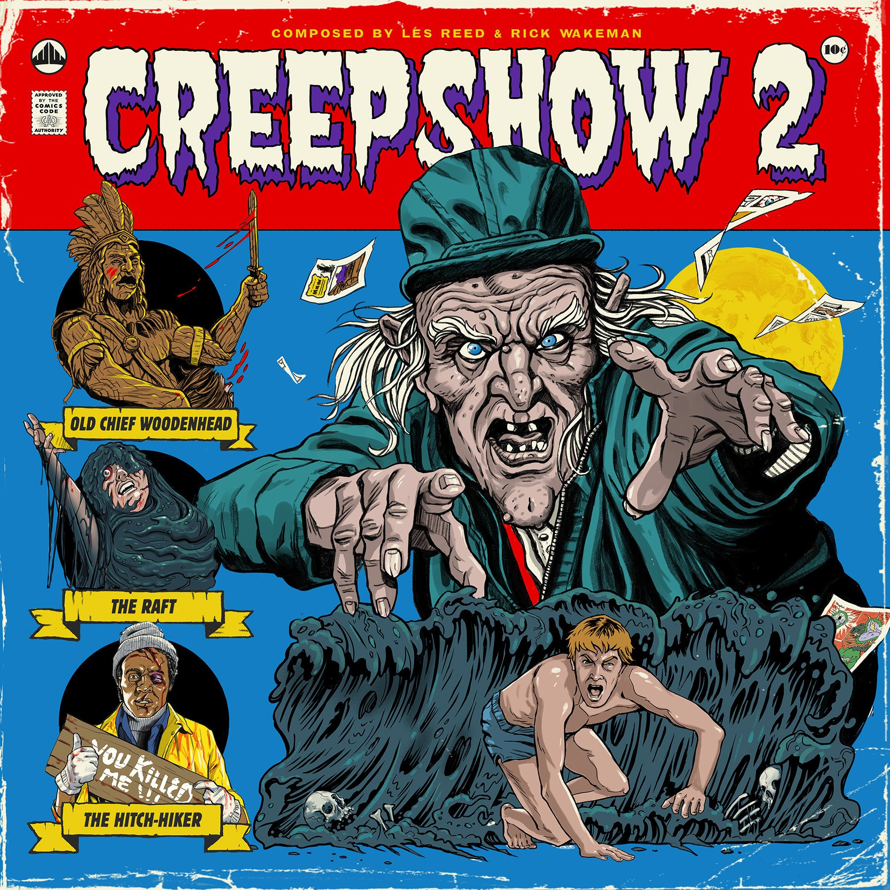 Creepshow 2 Waxrecords Ost