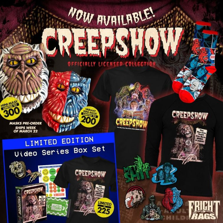 Creepshow Fright Rags