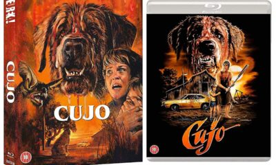 Cujo Film Bluray Edition Limitee Eureka Classics Uk