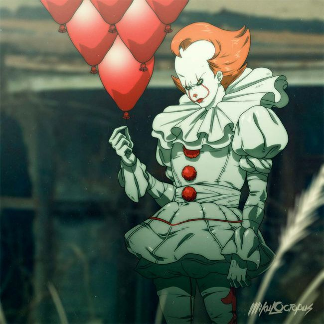 It Pennywise Anime Manga 2