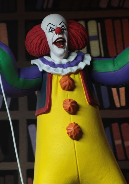 Neca Pennywise Grippe Sou Toy Fair 2019 Toony Terror 1990