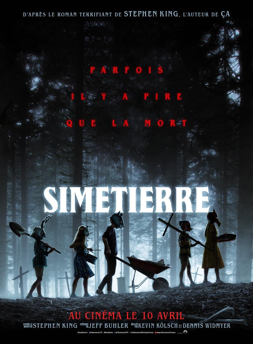 Simetierre Pet Sematary Affiche Poster Francais