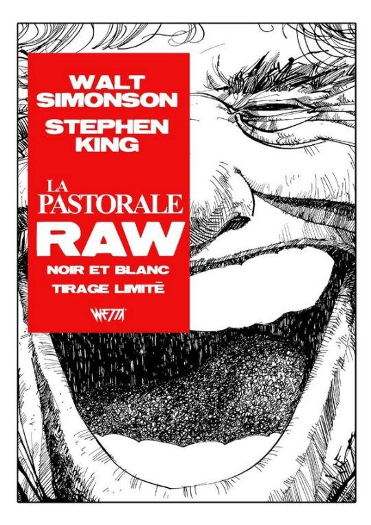 Stephen King La Pastorale Raw Edition Noir Blanc Walter Simonson Exclusivite Original Comics