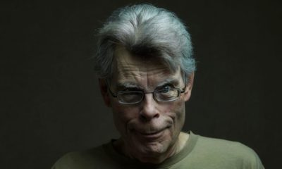 photo stephen king - scary portrait
