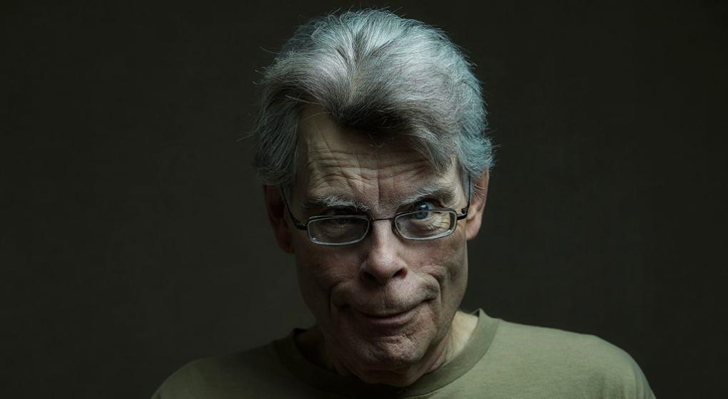 Stephen King Scary Portrait