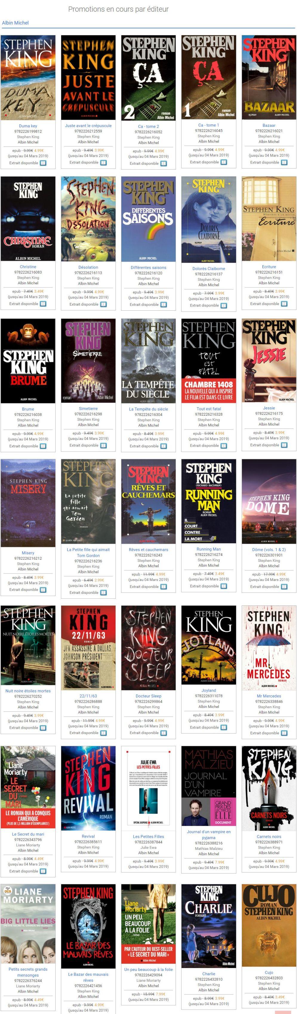 Stephenking Livres Ebooks Promotion Fevrier2019
