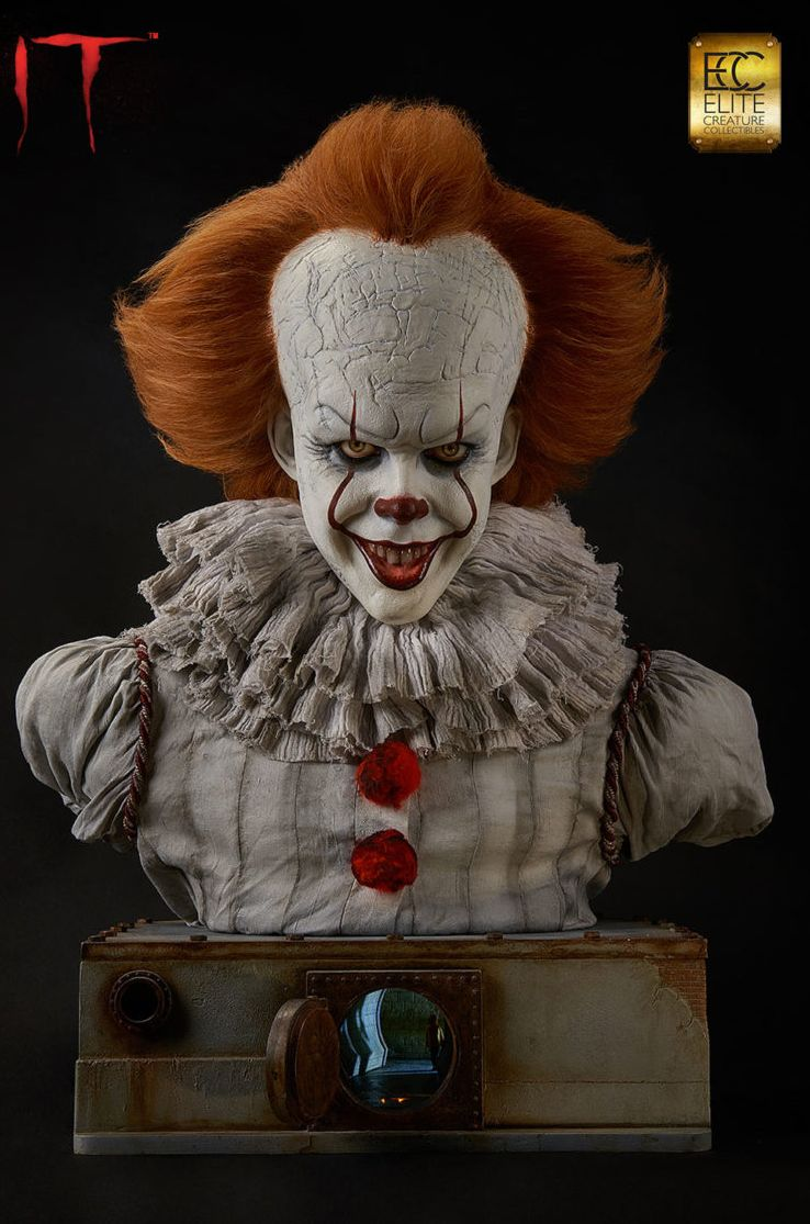 Buste Grippe Sou Pennywise 2017 Elite Creature Collectibles 10