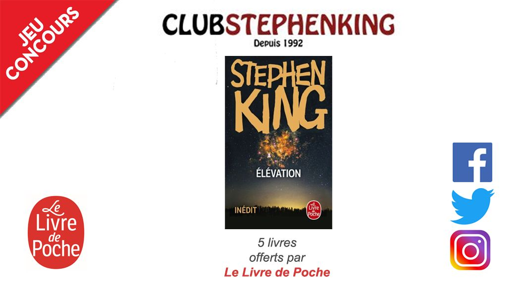 Concours Elevation Stephenking Lelivredepoche
