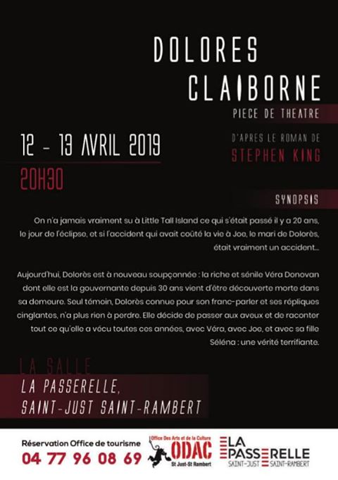 Dolores Claiborne Stephenking Piece Theatre 42 Saint Just Saint Rambert 02