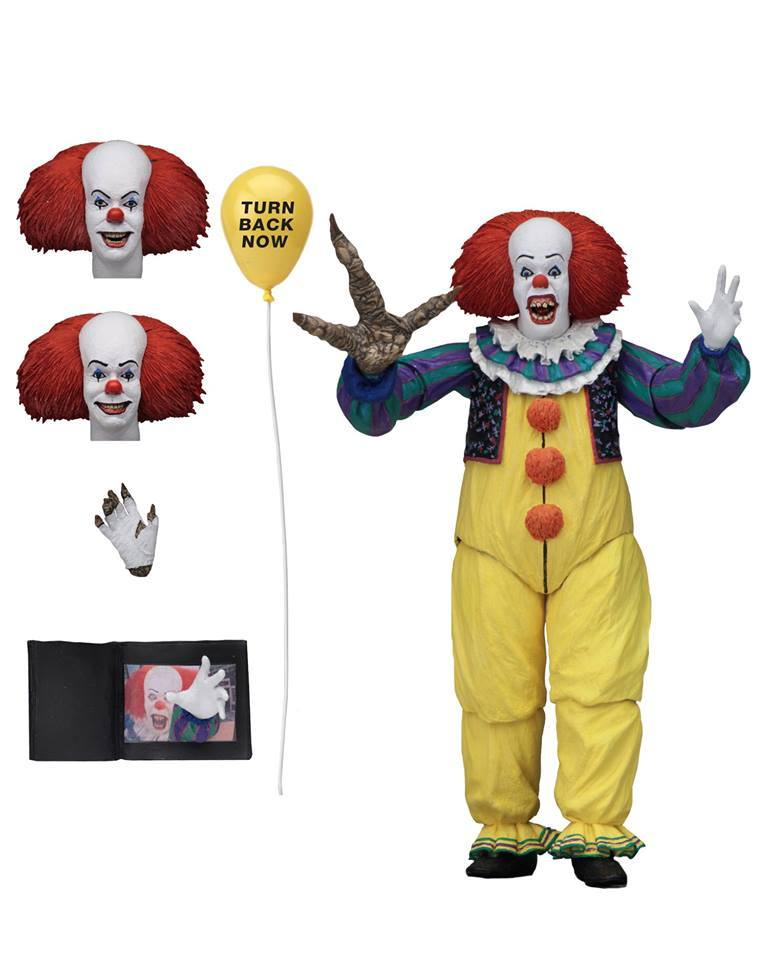 Neca Pennywise Grippesou Toyfair 2019 Action Figurine 1990