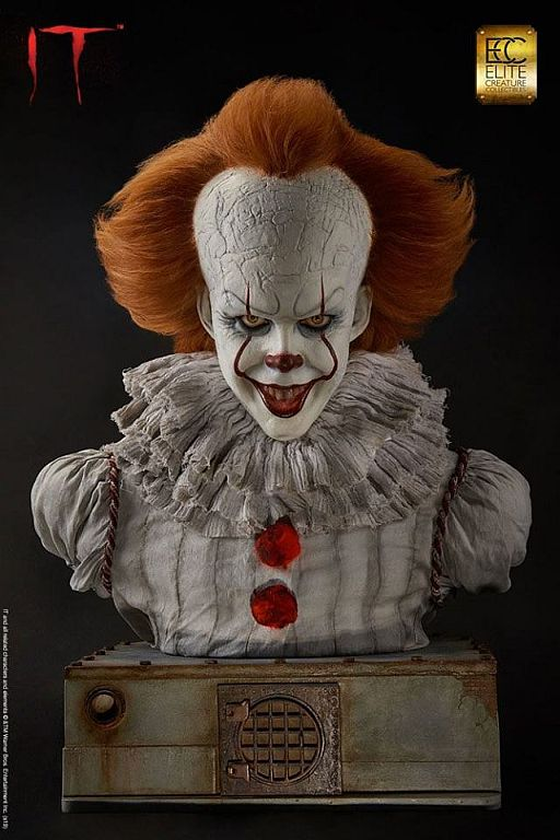 Pennywise Buste Elite Creature Collectibles 2