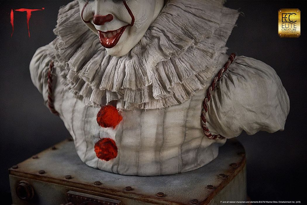 Pennywise Buste Elite Creature Collectibles 4