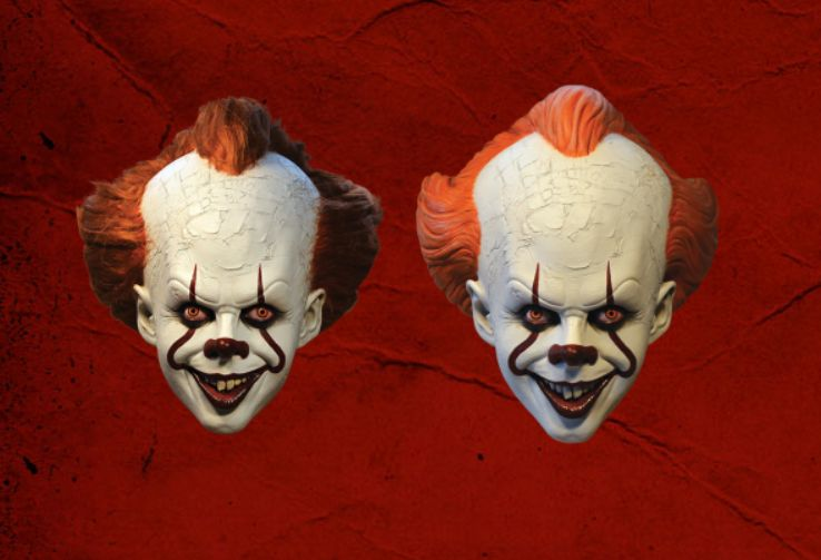 Pennywise masks Trickortreats