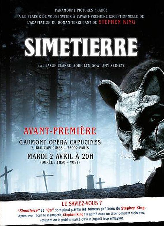 Simetierre Poster Avp