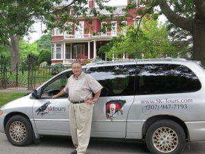 stuart tinker des Tours Stephen King à Bangor