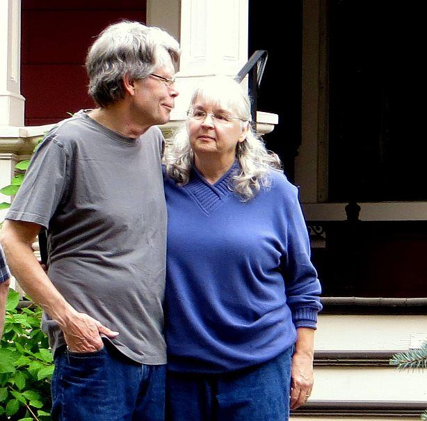 Stephen King et sa femme Tabitha King