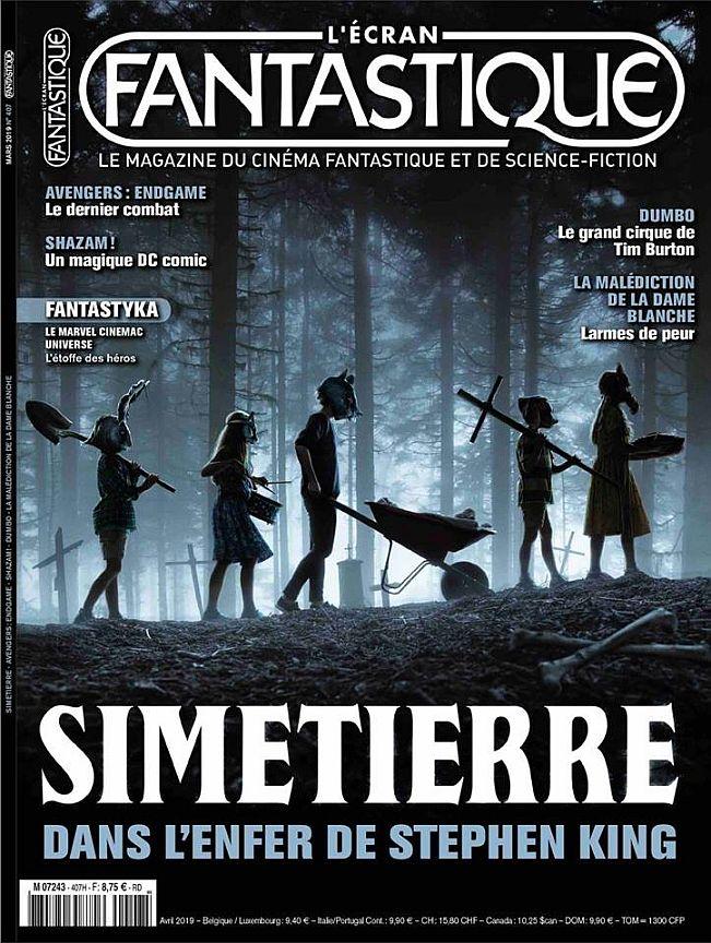 Lecran Fantastique Simetierre Stephenking Avril2019