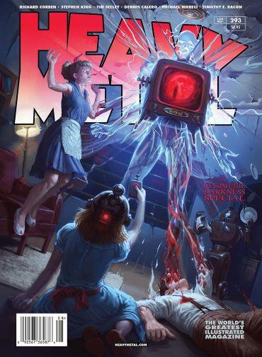 Thelittlegreengodofagony Stephenking Comics Heavymetal Mag
