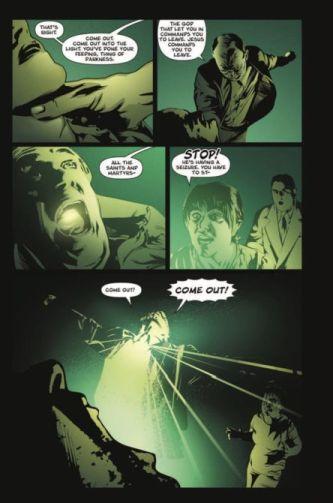 Thelittlegreengodofagony Stephenking Comics Heavymetal