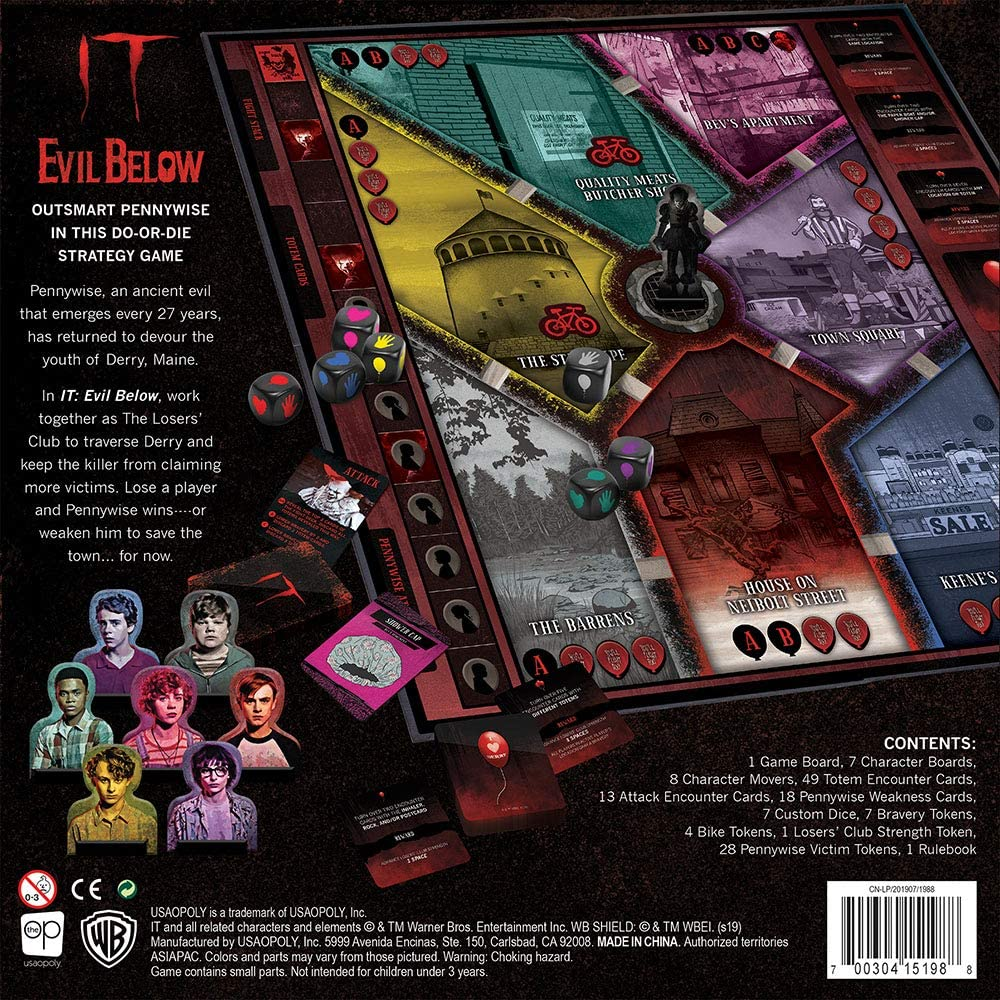 It Evil Below Jeu Societe 04