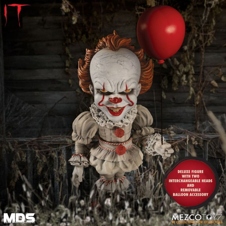 Mezco Pennywise Alternate Head 01