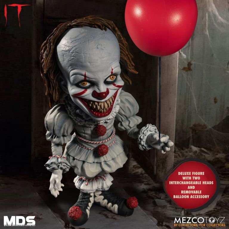 Mezco Pennywise Alternate Head 06