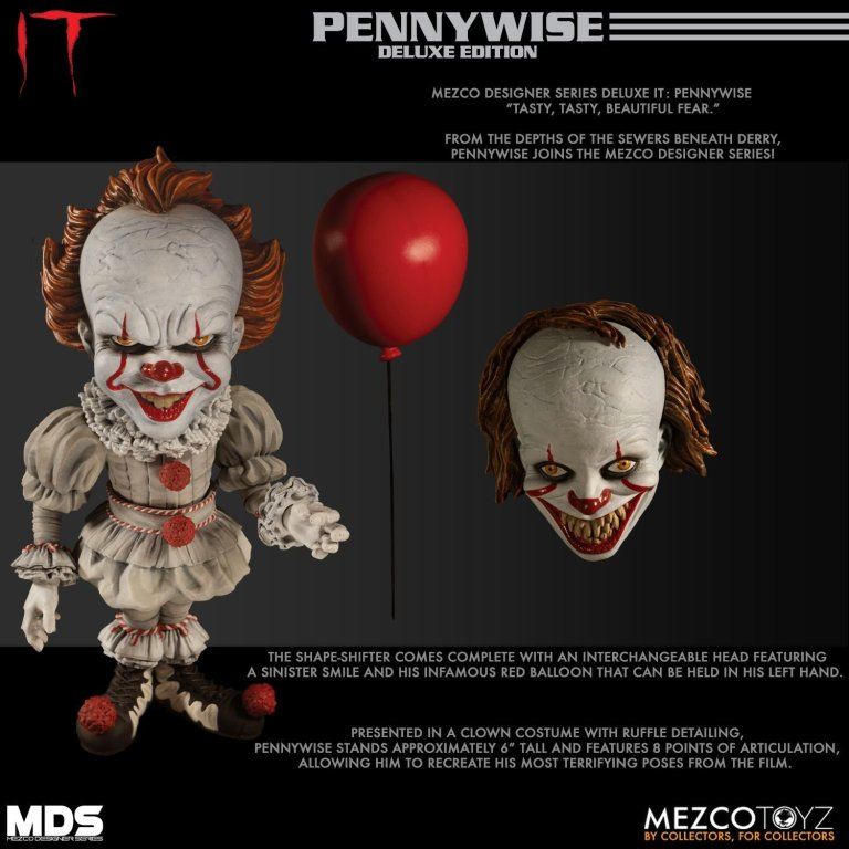 Mezco Pennywise Alternate Head 07