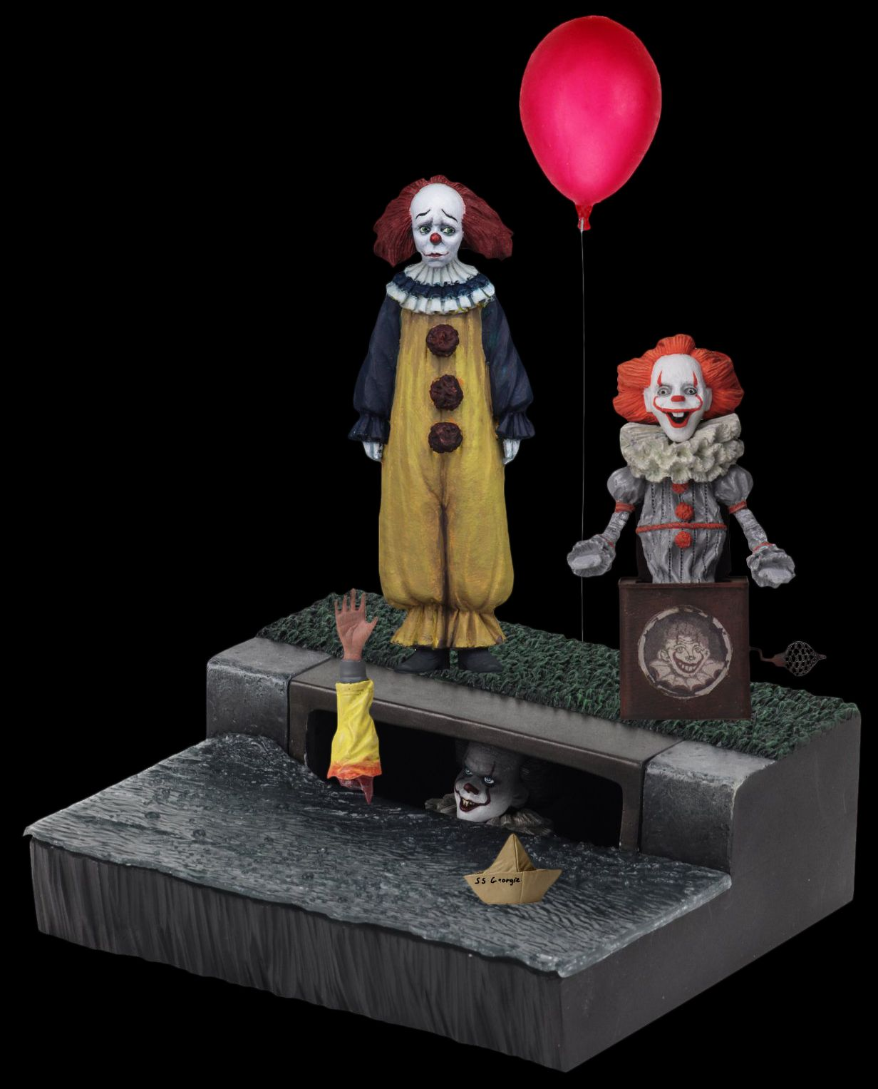 Neca It 2017 Pennywise 7 Inch Scale Accessory Pack