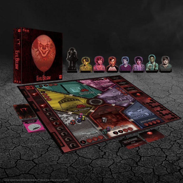 Usaopoly Stephenking It Evil Below 1