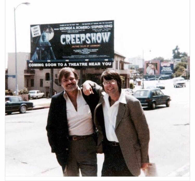 George Romero And Stephen King Creepshow
