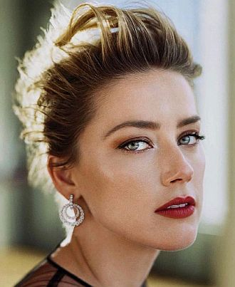 Amber Heard Nadine Cross