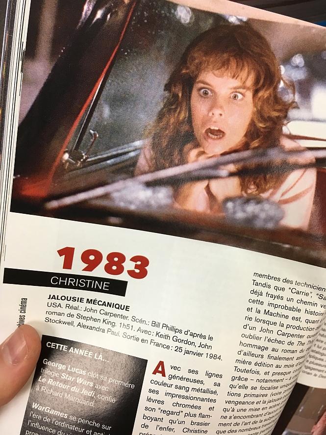 Ecranfantastique 50ans 1983 Christine