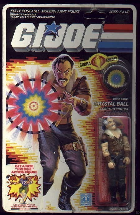 Figurine Gi Joe Crystal Ball Stephen King 02