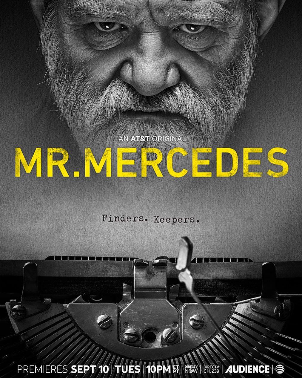 Mr Mercedes Saison3 Sdcc Poster