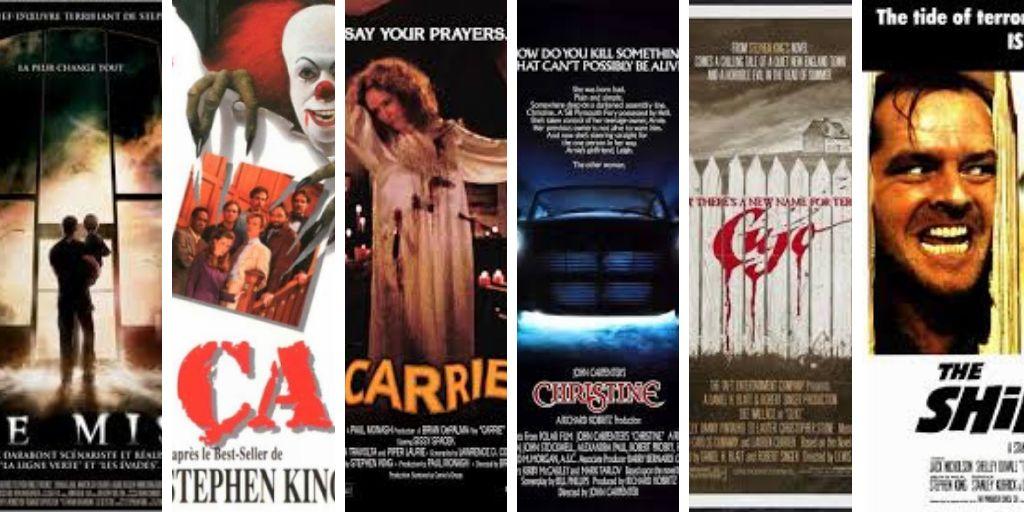 Adaptations De Stephen King Films Series