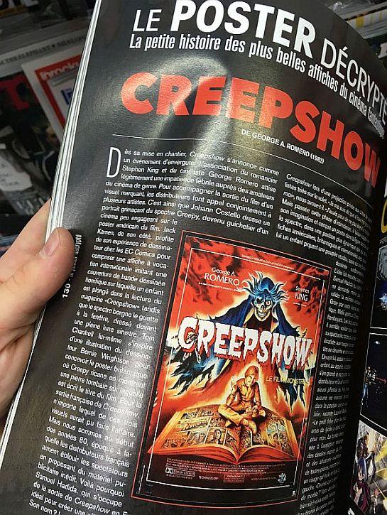 Creepshow Poster Decrypte Ecranfantastique