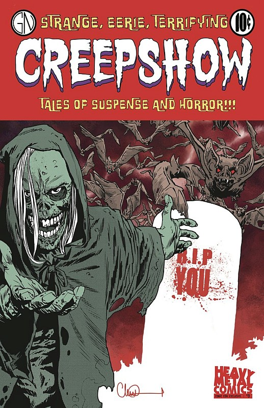 Creepshow Serie Comicbook 0 Sdcc