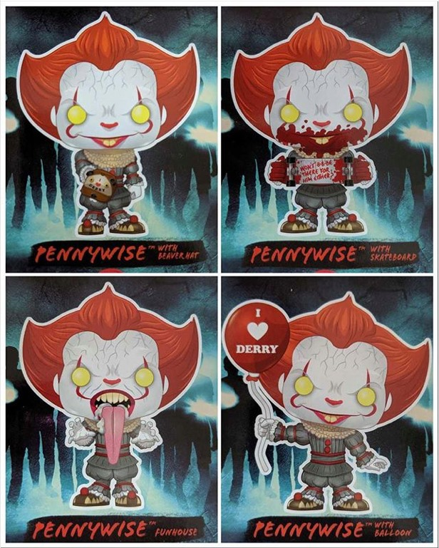 Figurines Funko Ca Chapitre2 Pennywise