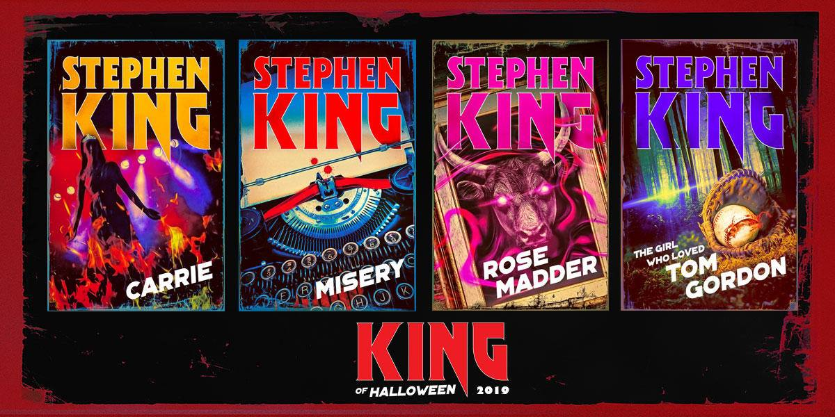 King Of Halloween 4 Livres De Stephen King Ressortent Avec