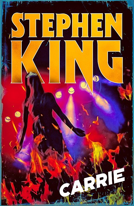 Stephenking Couv Carrie Retro Halloween Edition 2019
