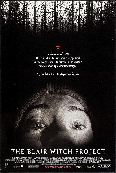 Blair Witch Project Movieposter