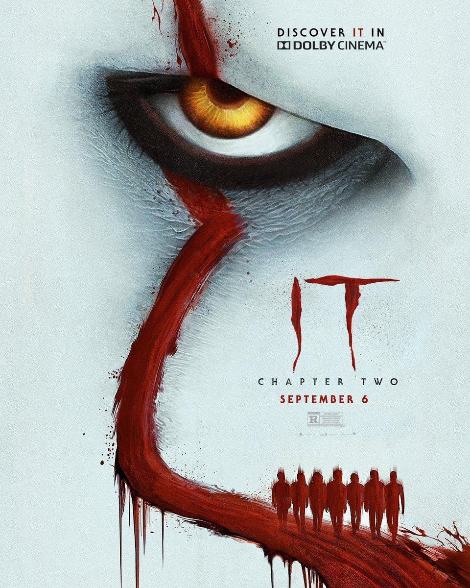 It2 Dolby Poster Pennywise