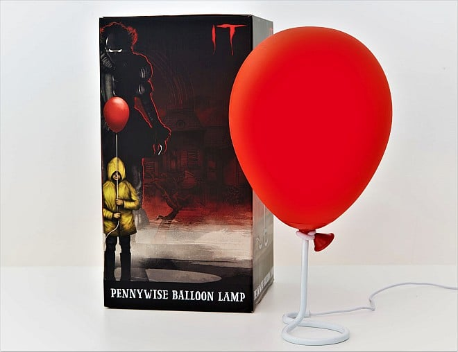 Lampe Ballon Rouge Pennywise 01