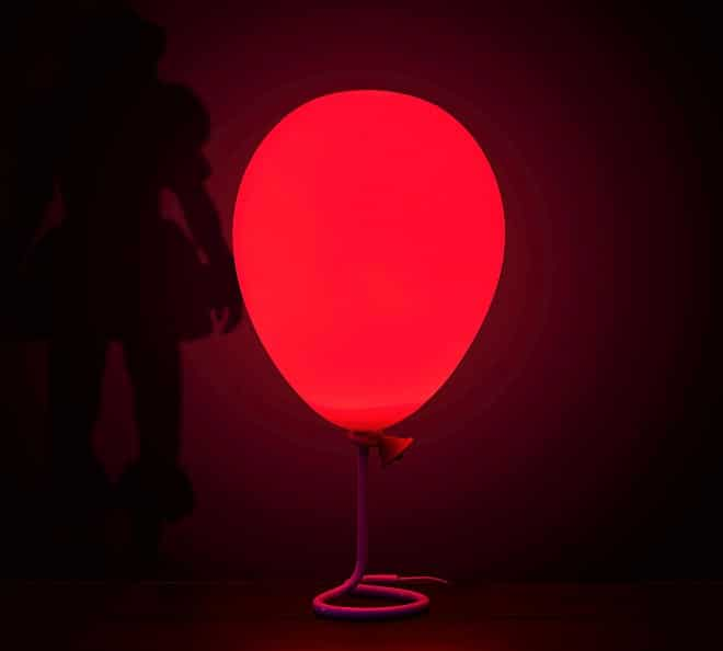 Lampe Ballon Rouge Pennywise 02