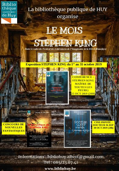 Mois Stephen King Bibliotheque Huy