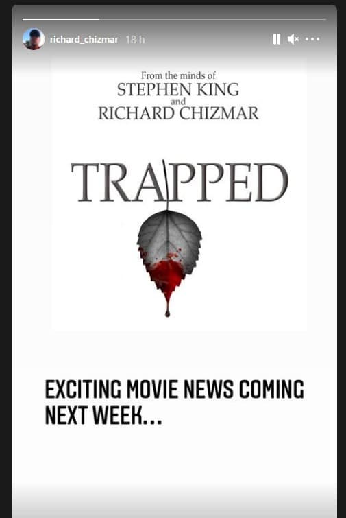 Trapped Stephenking Richard Chizmar 2021