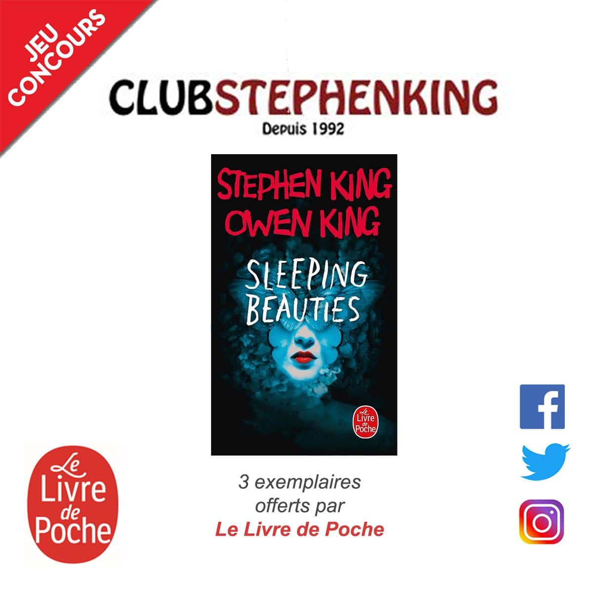Concours 3 Livres Sleeping Beauties A Gagner Avec Le